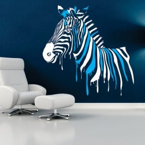 Dekorativna nalepka - zebra