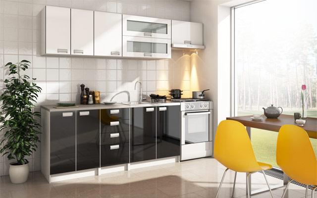 Sodoben kuhinjski blok