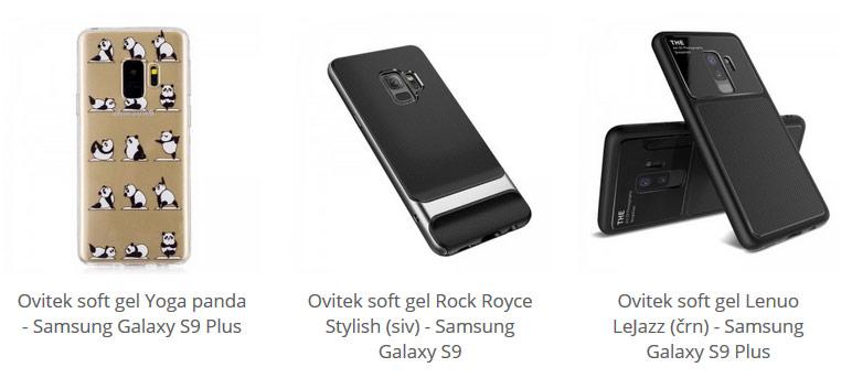 Soft gel ovitki za Samsung