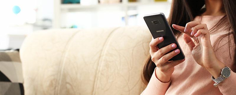 Zaščita za Samsung telefon
